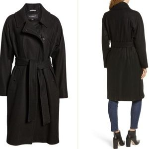 Marc New York Wool Blend Trench Coat CT1